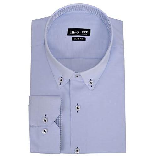 Men's Dress Shirt Long Sleeve Classic Slim Fit Button Down Collar
