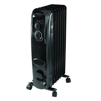 Mainstay Oil Filled, Electric Radiant Heater Heater Oil Space
