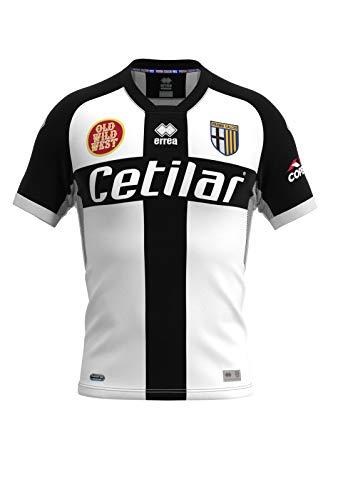 PARMA CALCIO 1913 Calcio Maglia Gara Home Parma - Camiseta de fútbol de competición 2020-21, Blanco, XX-Large Unisex Adulto