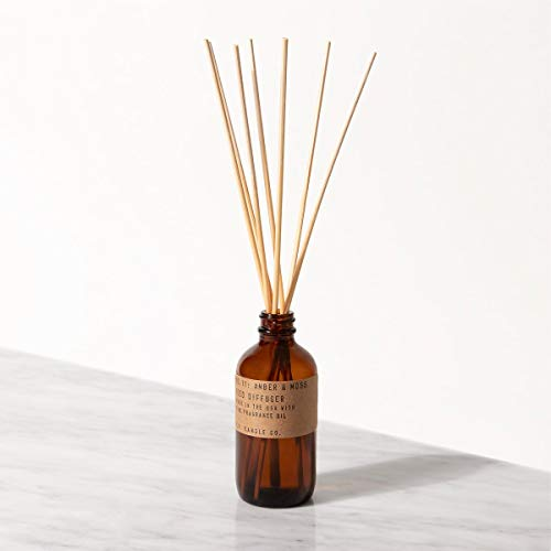 P.F. Candle Co. Amber & Moss Reed Diffuser (3.5 oz)