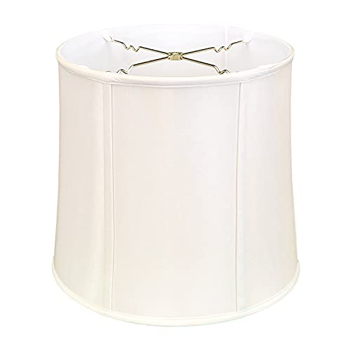 Royal Designs, Inc. BS-719-16WH Basic Drum Lamp Shade, 15