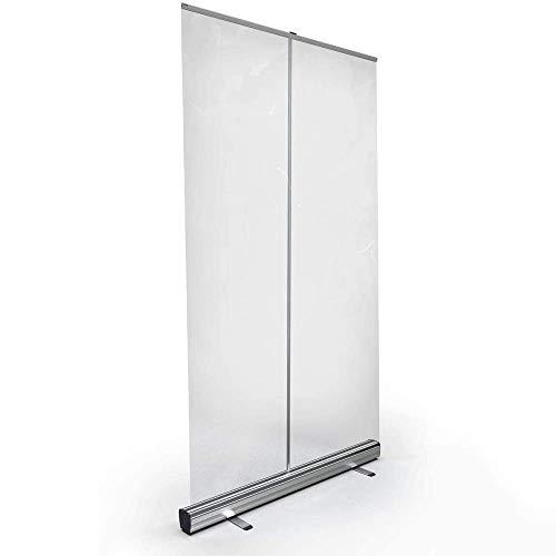 Byakns Protección transparente enrollar la pancarta transparente, la pantalla del protector de estornudos, la pantalla de partición transparente de pie (tamaño: 80 × 180 cm) (Size : 90×200cm)