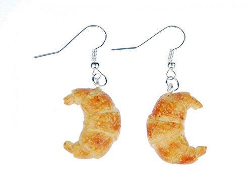orecchini Croissant appendiabiti Miniblings prodotti da forno della panetteria cottura pane colazione