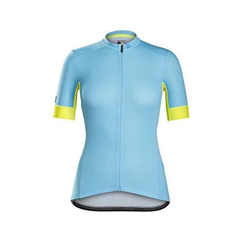 Bontrager Meraj Endurance Damen Fahrrad Trikot kurz blau 2021: Größe: M (36/38)