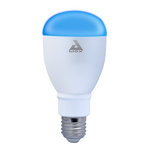AwoX SmarLight Couleur Ampoule Bluetooth E27 SML-C9, 9 W, Blanco