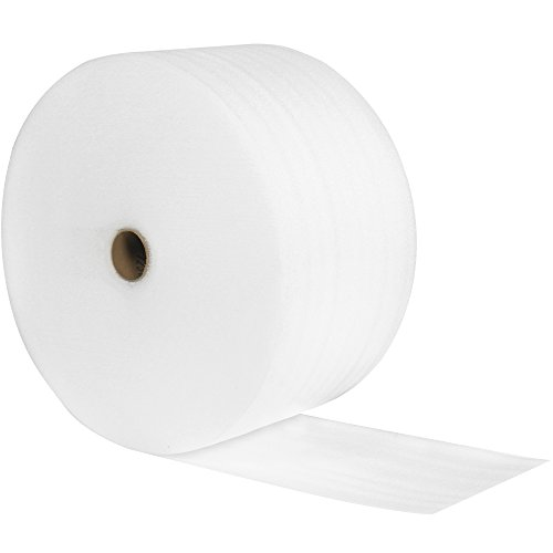Aviditi Polyethylene UPSable Perforated Air Foam Roll 350#039 L x 24quot W x 1/8quot H White FWUPS18S24P