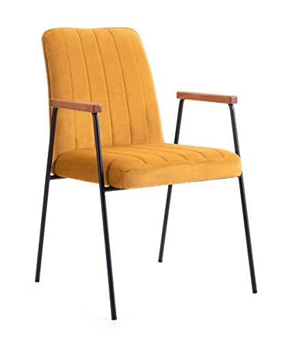 Be Bright Armchair Victus Oker Yellow
