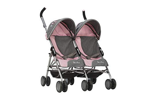 Silver Cross Pop Twin MAX Dolls Pushchair (Vintage Pink). For ages 4 - 9 years