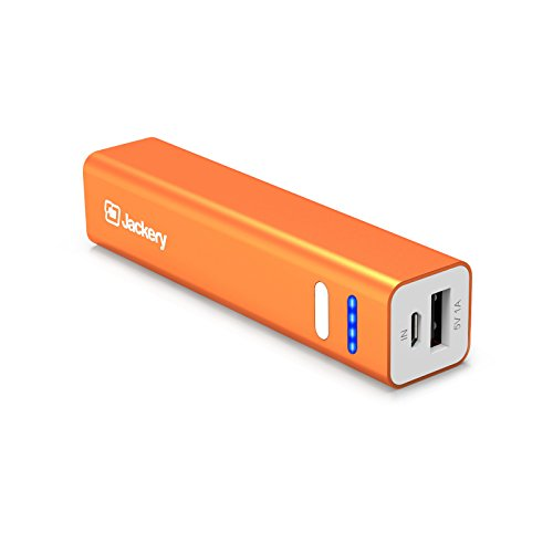 [The Smallest] Jackery Mini 3350mAh Portable Charger - External Battery Pack, Premium Aluminum Power Bank, Portable iPhone Charger for iPhone Xs max/Xs/XR/X/8/7/6/5, Samsung Galaxy S9/S8 (Orange)