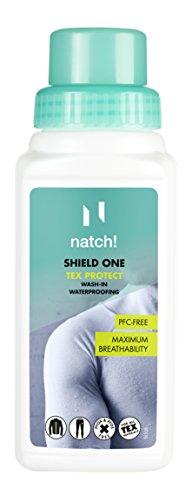 natch! SHIELD ONE - Einwaschimprägnierer für Sport- und Funktionsbekleidung, 250 ml