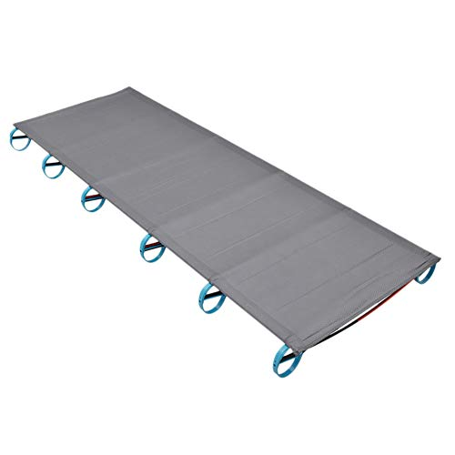 CHUIX Portable Ultralight Folding Single Camp Bed, Travel Cot Tent Bed Aluminium Alloy Metal Frame Outdoor Camping Hiking Fishing Beds