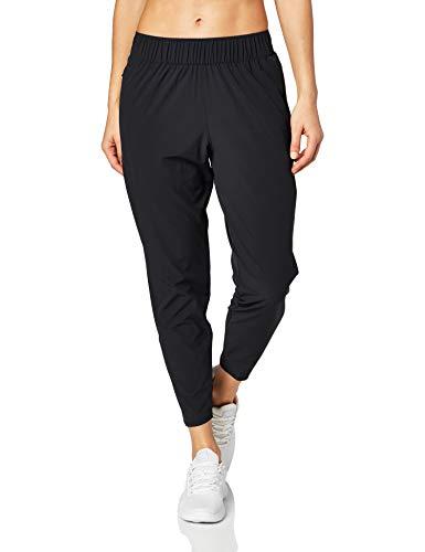 Nike W NK ESSNTL Pant 7_8 Damenhose, Schwarz/Schwarz/Reflective Silv, M
