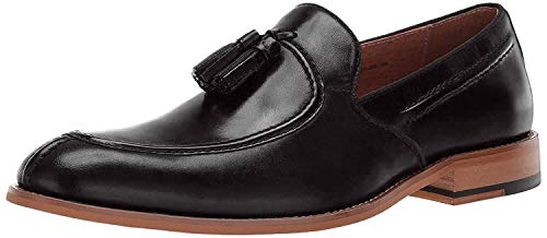 Leather Shoes for Men Slip on Loafer Oxford