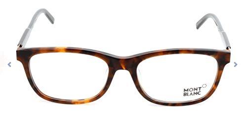 Mont Blanc Brillengestelle MB0631-D Monturas de gafas, Multicolor (Mehrfarbig), 55.0 para Hombre