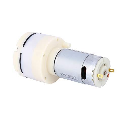 Bomba de Aire de Permeabilidad de 15 l / min Bomba de aire de Acuario de Plástico de Permeabilidad al aire de 12 V CC Aplicable Diseñada para Pequeños Electrodomésticos