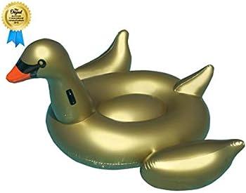 Swimline Vinyl Inflatable Giant Golden Goose Float