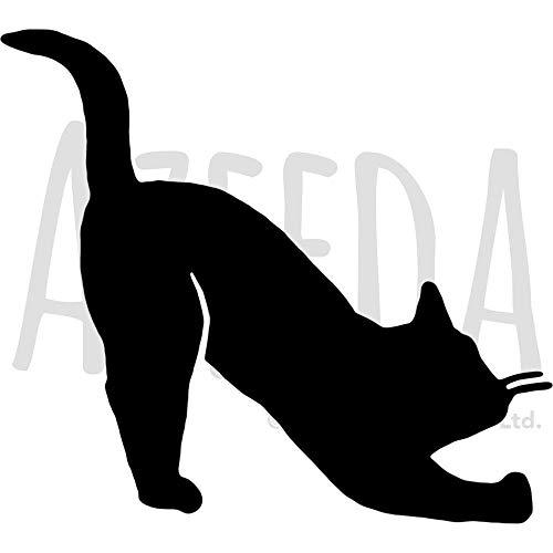 Azeeda A3 'Katze' Wandschablone / Vorlage (WS00011742)