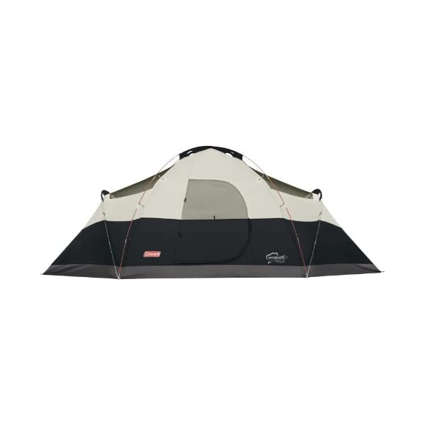 Coleman 8-Person Tent for Camping | Red Canyon Car Camping Tent 1