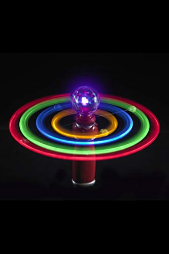 Smiffys Solar Kreisel, Leuchtende Kugel und Umlaufbahnen, Bunt, 27698