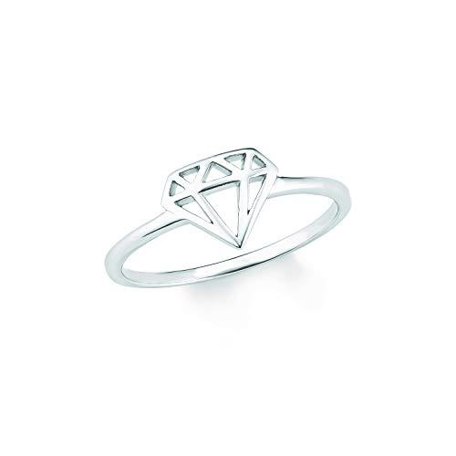 s.Oliver Ring für Damen, Sterling Silber 925