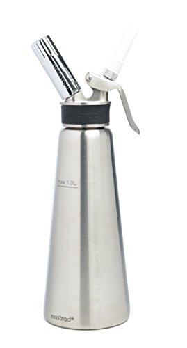 Mastrad F49950 Siphon Pro, Inox, Acier, 1L