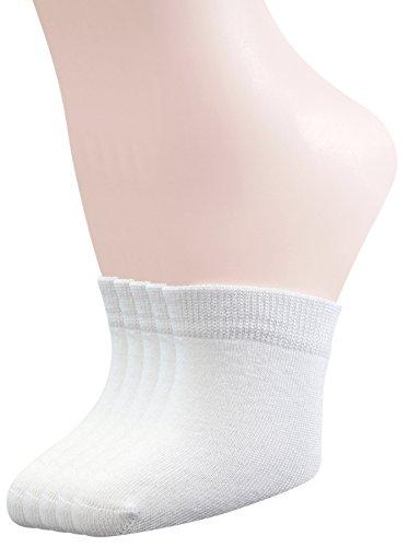 Yomandamor Womens 5 Pairs Bamboo Toe Topper Liner Socks Half Socks with Seamless Toe