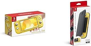 Nintendo Switch Lite イエロー+【任天堂純正品】Nintendo Switch Liteフリップカバー(画面保護シート付き)