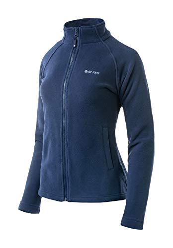Hi-Tec - Chaqueta de Forro Polar para Mujer, Primavera/Verano, Mujer, Color Azul...