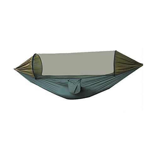 Générique Hamac De Moustiquaire Camping en Plein Air Tissu De Parachute en Nylon Haute Charge (Max. 300 Kg), 280 * 140 Cm