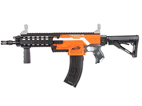Skywin Modification Kits Compatible with Nerf Stryfe Blaster Toy - Easy to Use Compatible with Worker Nerf, Mod Kit That Adds Design to Your Toy Blasters, G56 Look