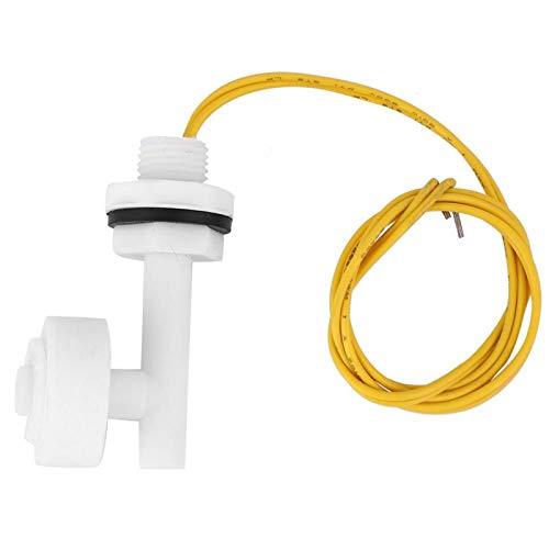 Wosune Controlador de Nivel de líquido, Interruptor de Nivel de cableado Simple y Duradero, Interruptor de Nivel de líquido de Barco DC220V Alarma de sótano para hidroponía de Barco de Coche