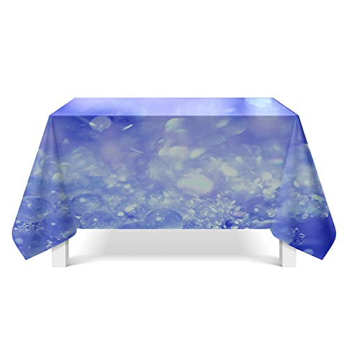 DSman Mantel Lavable, Tejido Oxford, Tejido con Textura de Cristal