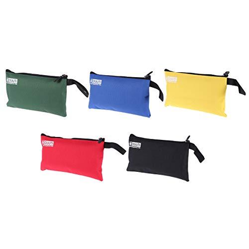 BESTOMZ Set leichte Reißverschlusstaschen, organizertaschen – 5 taschen in verschiedene Größen