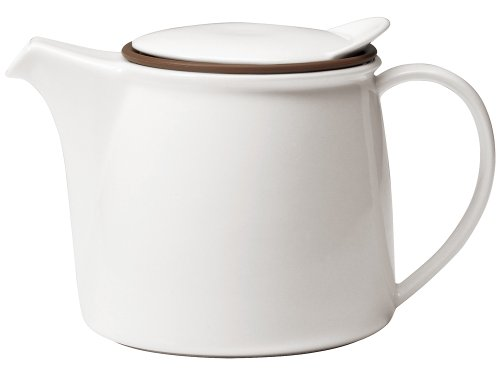Kinto Brim Tea Pot 750ml White