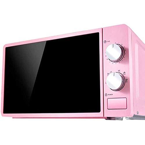 SONGYU Temporizador de microondas Cocción rápida con un Toque Fácil de Limpiar Mini hornos de 20 l de diseño Elegante (Color: Azul)