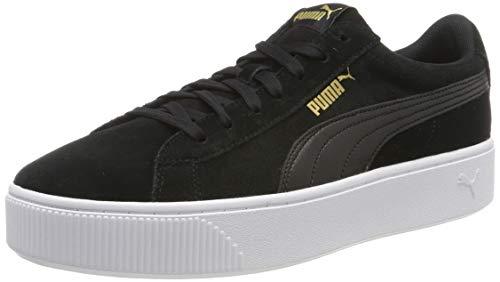 Puma Damen Vikky Stacked Sd Sneaker, Schwarz (Puma Black-Puma Black-Puma White 02), 39 EU