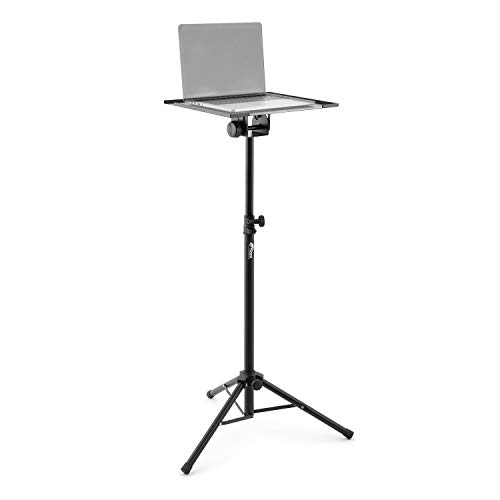 Tiger LEC7-BK Laptop Stand Projector Stand - Height Adjustable with Tripod Legs