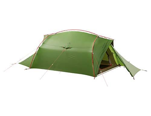 VAUDE 3-personen-zelt Mark 3P, vielseitiges 3 Personenzelt, sehr windstabil, green, one Size, 142124000