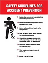 Accuform PST215 Safety Banners & Posters Safety Awareness Posters SAFETY GUIDELINES FOR ACCIDENT PREVENTION 12