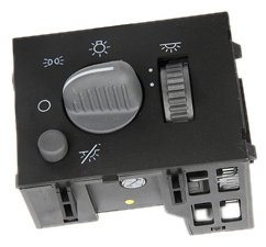ACDelco D1523H GM Original Equipment Headlamp, Instrument Panel Dimmer, and Dome Lamp Switch