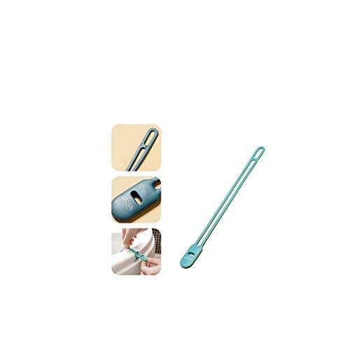 Toilet Seat Lifter,Raised Toilet Seat,Material TPR Tiene Dureza,Durabilidad,Y Su Diseño De Botón Puede Levantar Fácilmente El Inodoro Y También Puede Usarse como Un Carrete De Cable (Verde)