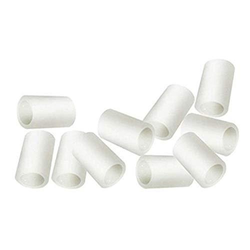 Timagebreze 10 Piezas Gel de Silicona Tubo de Dedo Protector Mangas del Dedo del Pie para la FriccióN Alivio del Dolor Herramienta para el Cuidado de los Pies ProteccióN de los Dedos