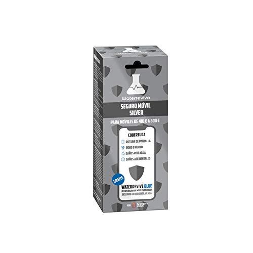 Waterrevive Silver - Seguro Movil Total de 1 Año, para moviles o Tablets Desde 401 € hasta 600 €