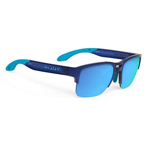 Rudy Project Spinair-58 Sunglasses - Crystal Blue Frame - Multilaser Blue Lens