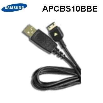 Original Samsung USB-Datenkabel inkl. Ladefunktion APCBS10BBE passend für Samsung B100, B130, B300, B460, B510, B2100, B2700, F480, F490, F510, F700, G600, G800, M3510, M150, M200, M8800, i780, S3030, S3310, S3500. S3600, S7330, S7530