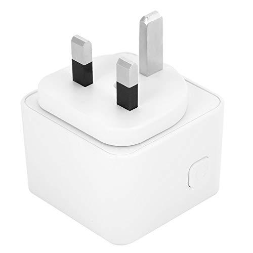 Enchufe Inteligente Compatible con Enchufe WiFi Resistente y Duradero, para lámpara de Escritorio