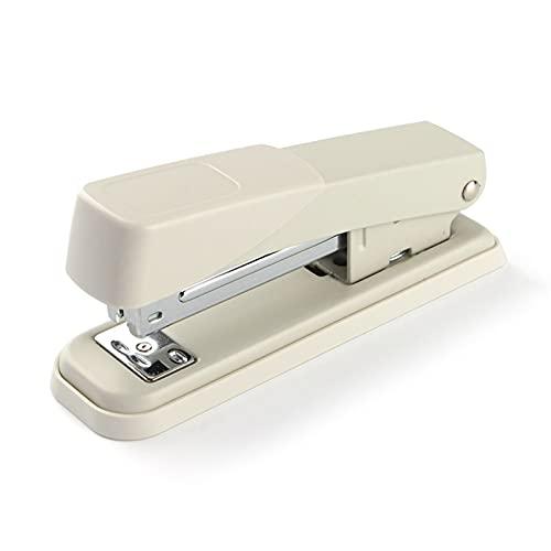 WANGYIYI Grapadoras manuales de Escritorio Máquina Grapadora Que Ahorra Mano de Obra Engrapadora multifunción giratoria para Placa de uñas Papelería de encuadernación para Estudiantes de Office Home
