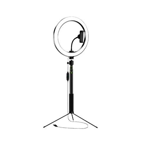 10 pulgadas Selfie anillo luz teléfono titular anillo luz foto anillo lámpara con trípode soporte para maquillaje stream video corto video anillo luz
