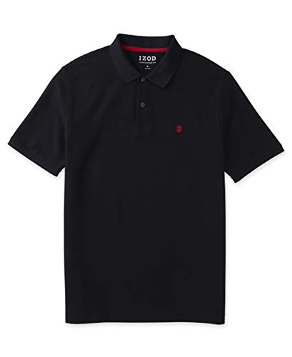 1) Best Overall: IZOD Men's Advantage Performance Solid Polo Shirt