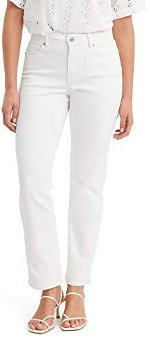 Levi s Women s Classic Straight Jeans Simply White 30 US 10 R product image